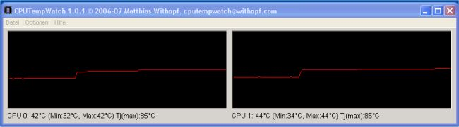 CPUTempWatch x64 full screenshot